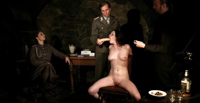 Sophie visits the BDSM Prison