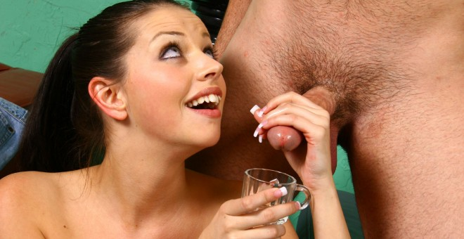 Missy Stone jerks a load into a cup
